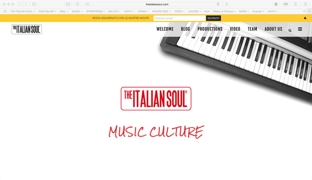The Italian Soul Page