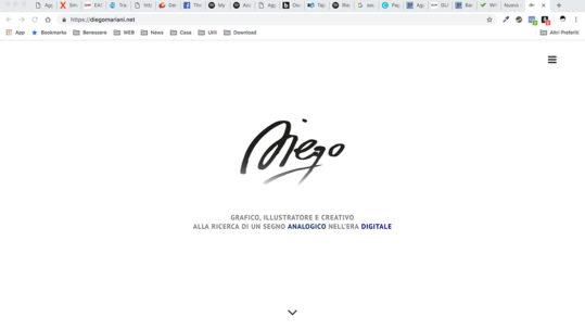 Diego Mariani sito web