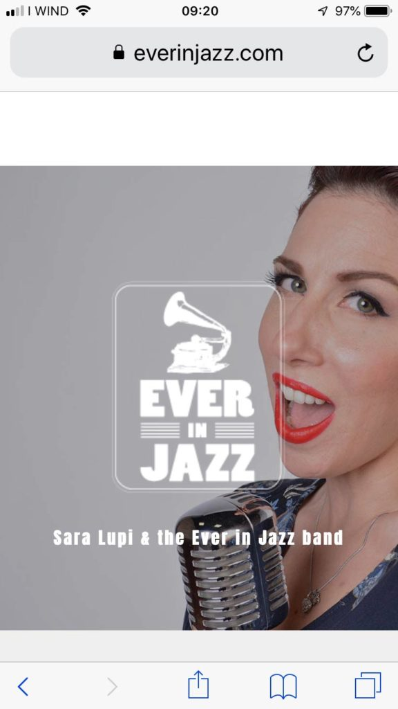 Ever in Jazz Mobile - Music Web Site -