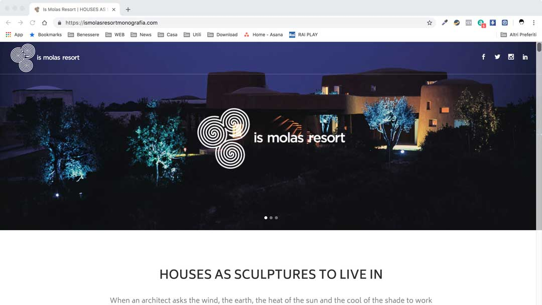 Monografia Web Is Molas Resort